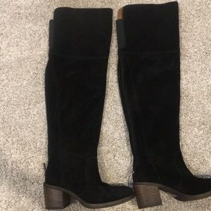 Lucky brand over the knee boot
